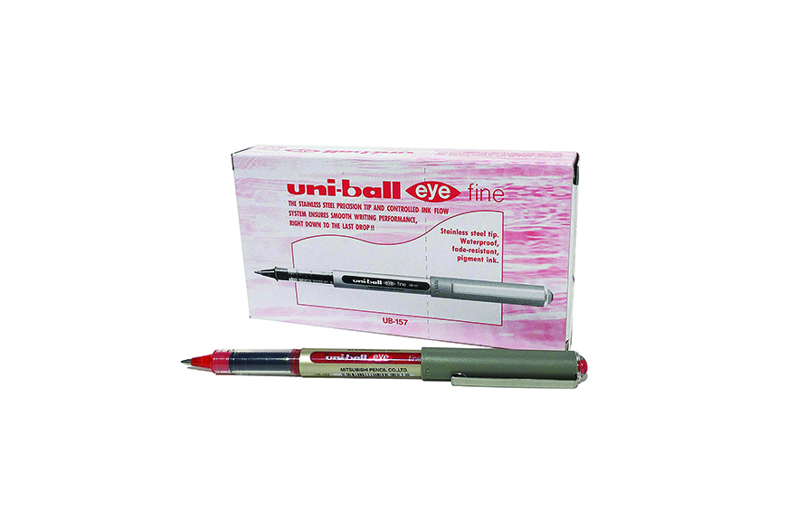 Uni-Ball Eye Fine UB-157 Red (0.7) (Pkt=12Pcs)