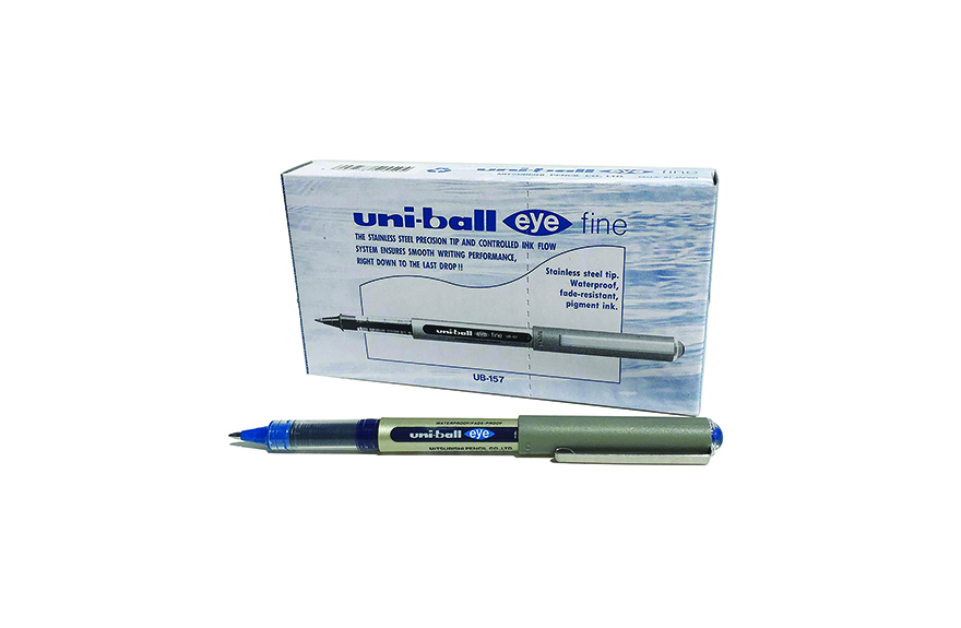 Uni-Ball Eye Fine UB-157 Blue (0.7) (Pkt=12Pcs)